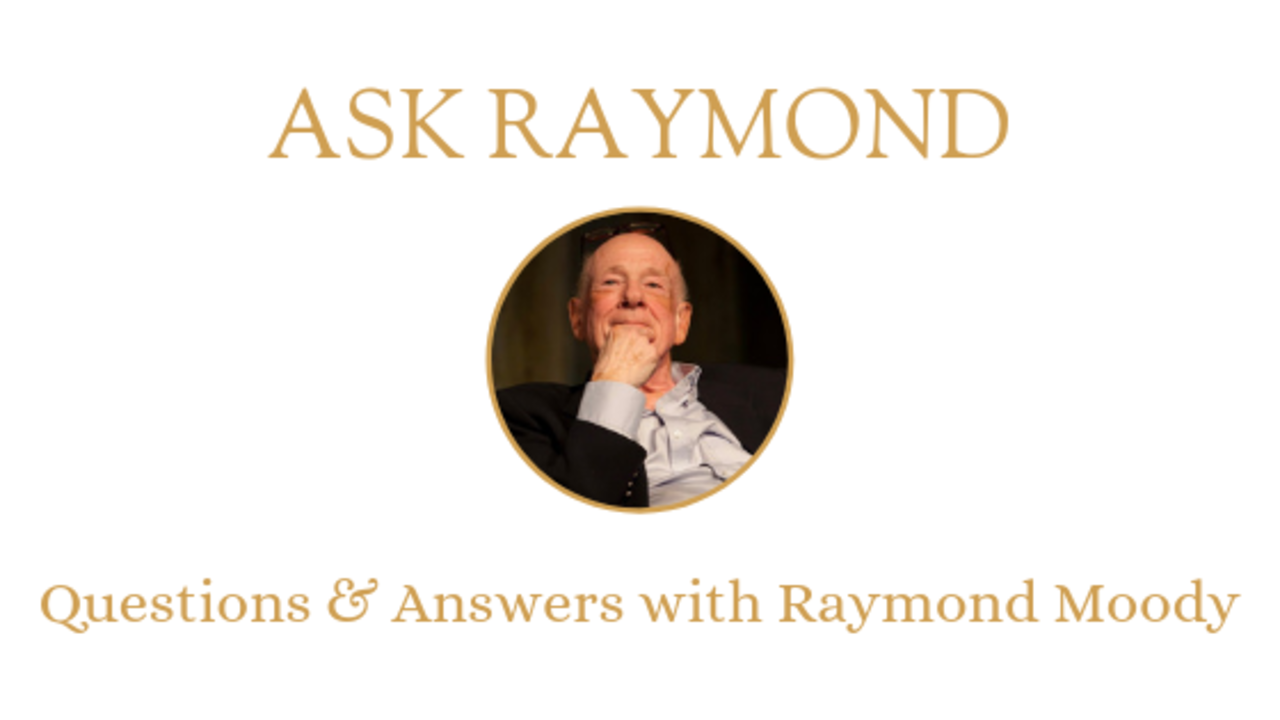ASK RAYMOND #2: Absorbed into the light?