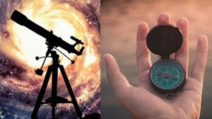 A Telescope & A Compass for