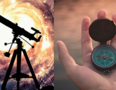A Telescope & A Compass for Our Journey