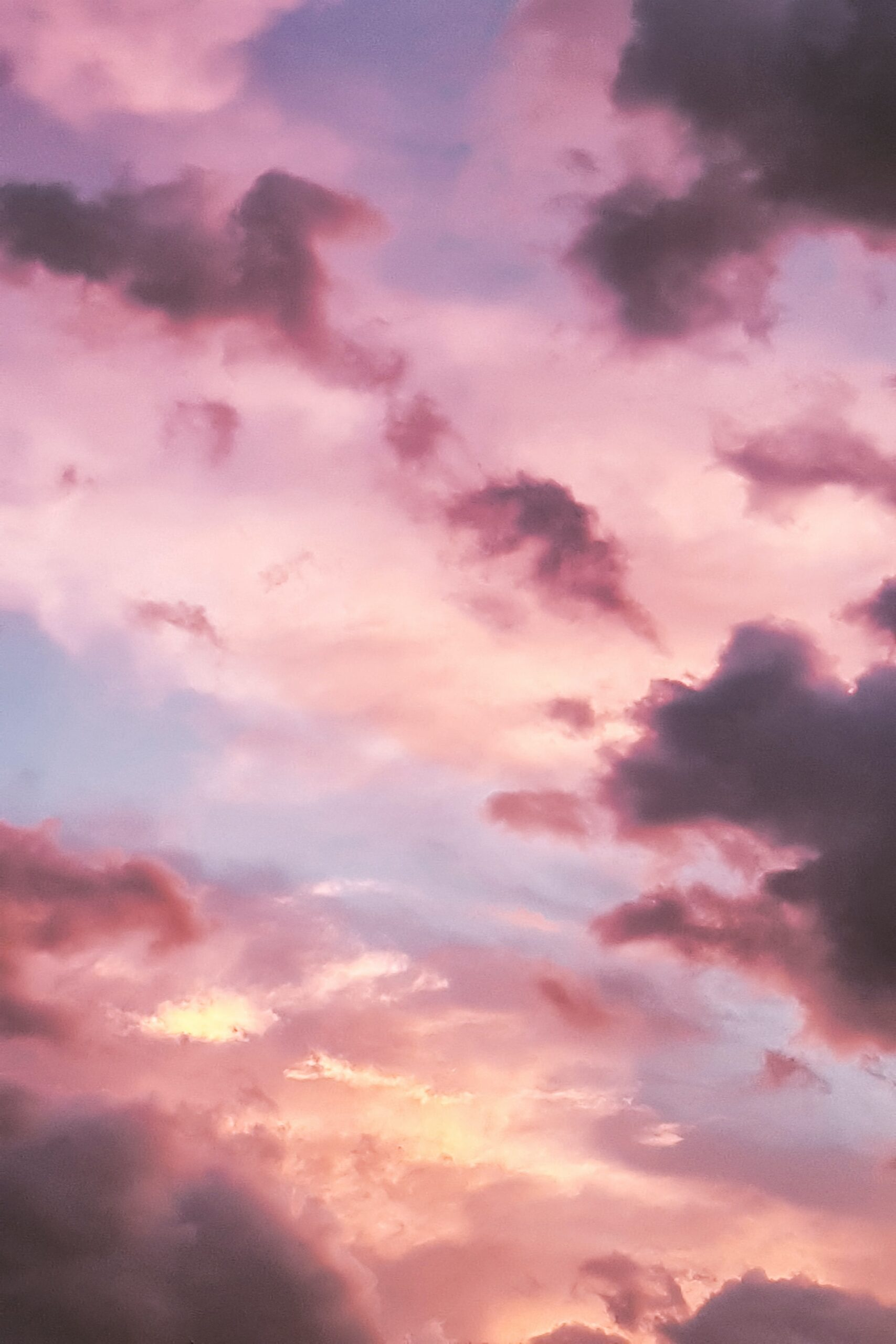 Pink clouds lovely